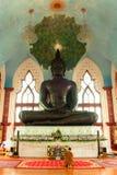 L'altezza dell'acciaio di Bigest Buddha Fotografia Stock Libera da Diritti