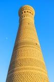 L'alto minareto fotografie stock