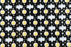 L'alto potere ha ingannato un radiatore dell'alluminio del PWB della stella Fotografia Stock Libera da Diritti