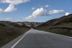 L'altopiano road Fotografie Stock