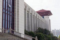 L'altra struttura architettonica sostegno-moderna Fotografia Stock