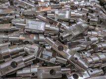 L'aluminium partie le fond images libres de droits