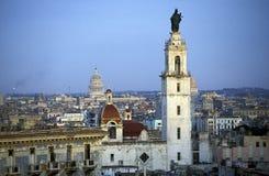 L'AMÉRIQUE CUBA LA HAVANE Images libres de droits