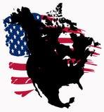 l'Amérique du Nord Illustration de Vecteur