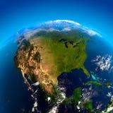 l'Amérique du Nord de l'espace Photographie stock