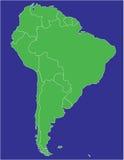 l'Amérique du Sud 02 illustration libre de droits