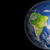 L'Amérique du Sud de l'espace illustration de vecteur