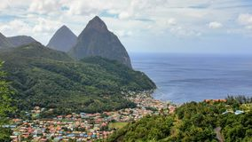 L'Amérique du Sud et les Caraïbe 2017 Photo libre de droits