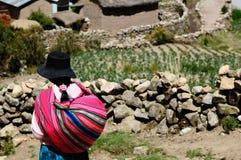 L'Amérique du Sud, personnes boliviennes image stock