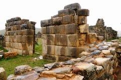 L'Amérique du Sud, ruines préhistoriques des syndicats de La au Pérou Images stock