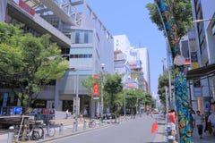 L'Amérique Mura Osaka Japan images stock