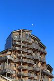 L'Amara Apartments in Avoriaz Stock Photo
