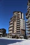 L'Amara Apartments in Avoriaz Stock Images