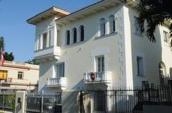 L'ambasciata svizzera in Cuba sta trattando la Noi-diplomazia immagini stock