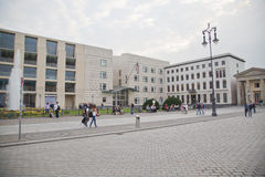 L'ambassade américaine des USA à Berlin Images stock