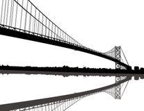l'Ambassadeur Bridge illustration de vecteur