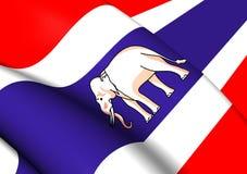 L'Ambassadeur Standard et consulaire de Siam Flag Images stock