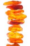 L'ambre cru de la côte de la mer baltique Photo libre de droits