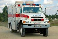 L'ambulance Photo libre de droits