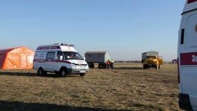L'ambulanza è arrivato Apra il campo archivi video