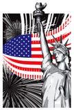 L'America royalty illustrazione gratis