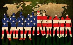 L'America Fotografie Stock