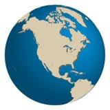 L'America del Nord Fotografie Stock