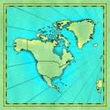 L'America del Nord royalty illustrazione gratis