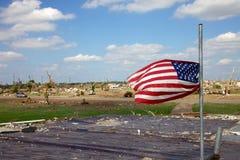 L'America Joplin Tornado coraggioso 2011 fotografia stock libera da diritti