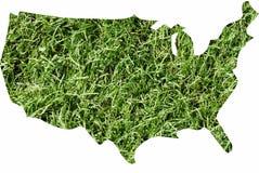 L'America verde Fotografia Stock