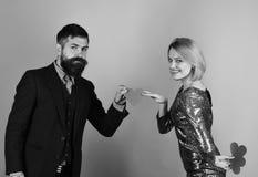 L'ami partage son amour avec l'amie Couples dans l'amour Photographie stock libre de droits
