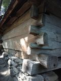 L'amicizia del legno Fotografie Stock