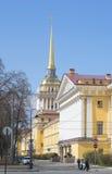 L'Amirauté Jour de Sunny May St Petersburg Photos libres de droits