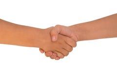 l'amitié, enfants, amitié, monde, paix, contrat, salutation, mains, les gens respectent le monde Photos stock