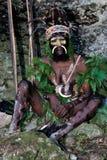 L'amorce d'une tribu de Papuan de Yafi Photographie stock libre de droits