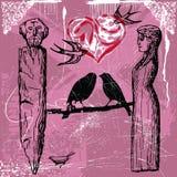 L'amore è così dolce illustrazione vettoriale