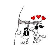 L'amore è dappertutto illustrazione vettoriale