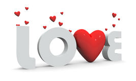 L'amore è nell'aria illustrazione di stock