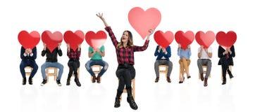 L'amore è nell'aria immagini stock