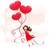 L'amore è nell'aria illustrazione vettoriale