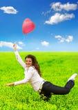 L'amore è nell'aria Fotografie Stock Libere da Diritti