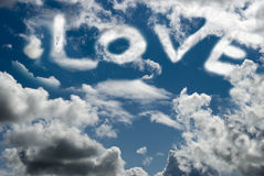 L'amore è nell'aria Fotografie Stock