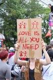 L'amore è tutto che abbiate bisogno di Immagini Stock Libere da Diritti