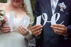 L'AMORE è in vostre mani! Immagine Stock Libera da Diritti