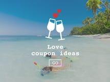 L'amore cita il concetto romanzesco del sito Web dei biglietti di S. Valentino immagine stock libera da diritti