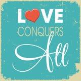 L'amore conquista tutti Immagini Stock Libere da Diritti