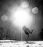 L'amore di inverno Fotografie Stock Libere da Diritti
