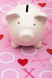 L'amore di soldi Immagini Stock