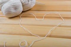 L'amore lavora all'uncinetto Fotografia Stock Libera da Diritti