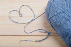 L'amore lavora all'uncinetto Fotografie Stock